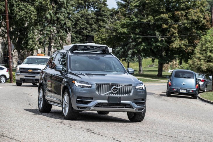 How to spot a self-driving vehicle in 2020!